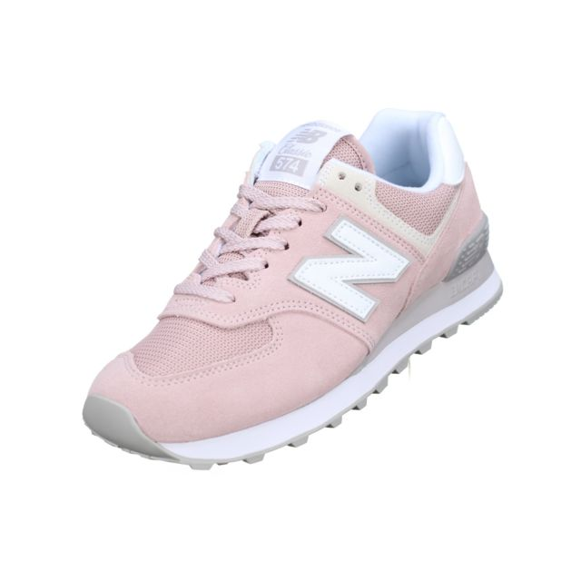 new balance wl574ndb grise et rose femme