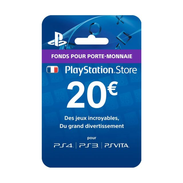 SONY Playstation Network Live Card 20