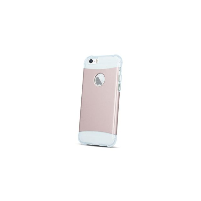 Evetane Coque Duo Transparente En Silicone Pour Iphone 5 5s Se