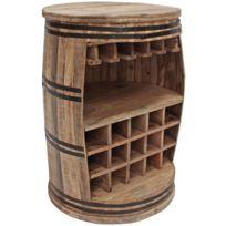 comforium meuble bar contemporain 90 x h 67 cm en bois de