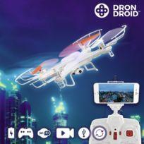 Marque Generique - Drone droid connecté avec caméra - jeux jouet télécommandé