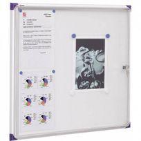 Nobo - Vitrine d'affichage pour intérieur - 6 x format A4 - extra plat