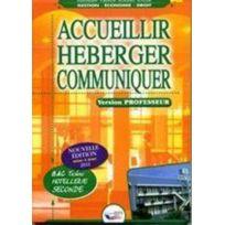 Bpi - accueillir, héberger, communiquer ; bac pro hôtellerie ; seconde ; livre du professeur