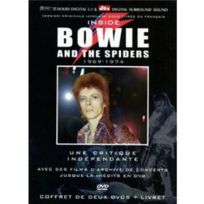 Hobbytech - Bowie and the Spiders Inside 1969-74 coffret 2DVD+livret