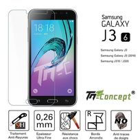 Autre - Samsung Galaxy J3 2016 Vitre de Protection Crystal - Tm Concept