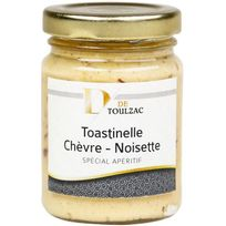 D De Toulzac - Toastinelle Chevre Noisette 80g