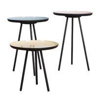 - Lot de 3 tables basses gigognes