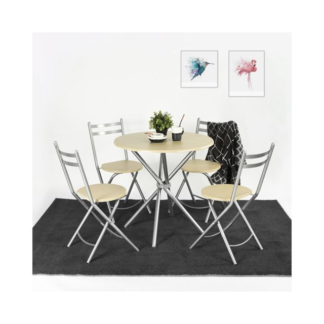 Capsull Design Ensemble table + 4 chaises Spring