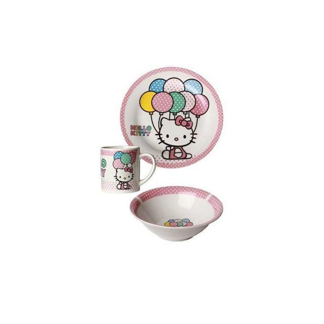 Hello Kitty Set Petit Dejeuner Ballon
