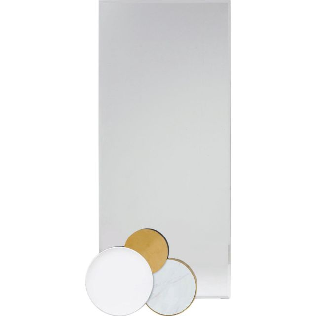 Karedesign Miroir Miami Loft Circles 180x45cm Kare Design