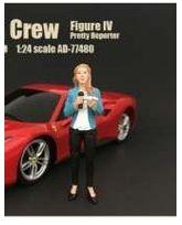 American Diorama - Figurines Reporter Woman - 1/18 - 77430