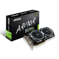 MSI - GeForce GTX 1070 Ti ARMOR - 8 Go GDDR5