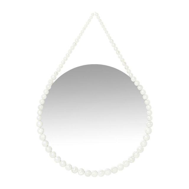 Karedesign Miroir White Pearl 40cm Kare Design