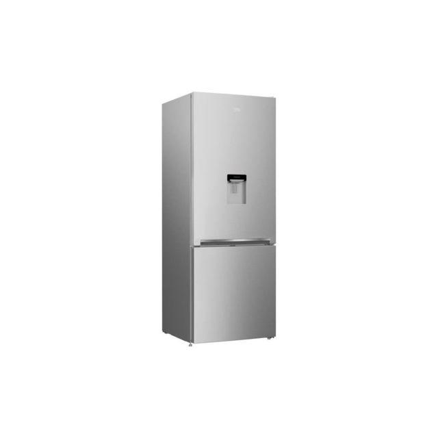 beko crcse460k20ds refrigerateur combine 460 l 336 124 l froid statique a l 70 x h 192 cm. Black Bedroom Furniture Sets. Home Design Ideas