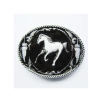Universel - Boucle de ceinture tete de cheval homme femme country ... dfbc8684f08