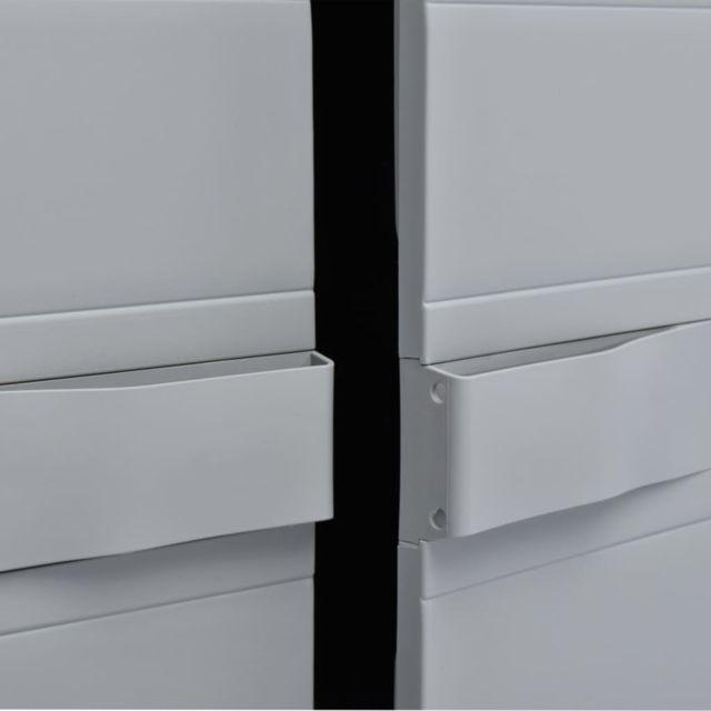 Icaverne - Casiers et armoires de rangement categorie Armoire de rangement  de jardin 65 x 38 x 171 cm Plastique