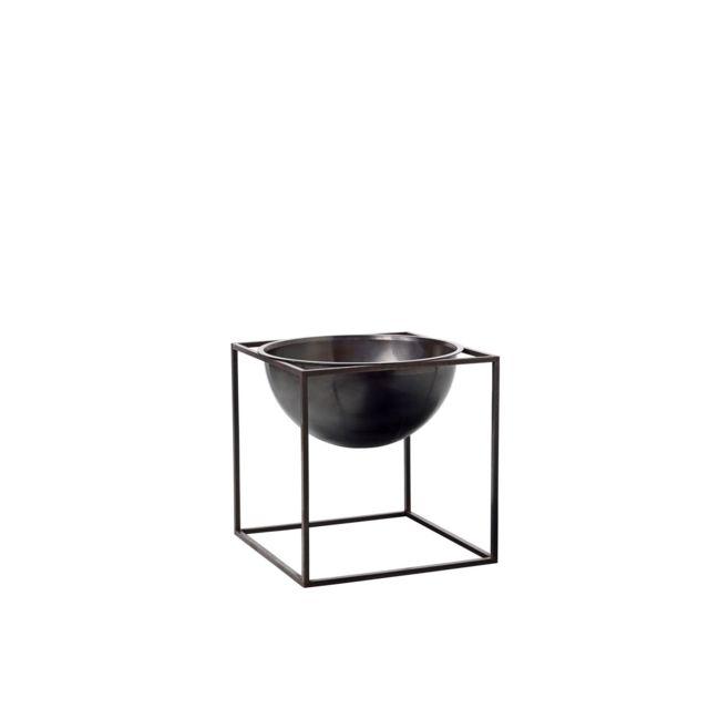By Lassen Petit bol Kubus Bowl - cuivre bruni - grand
