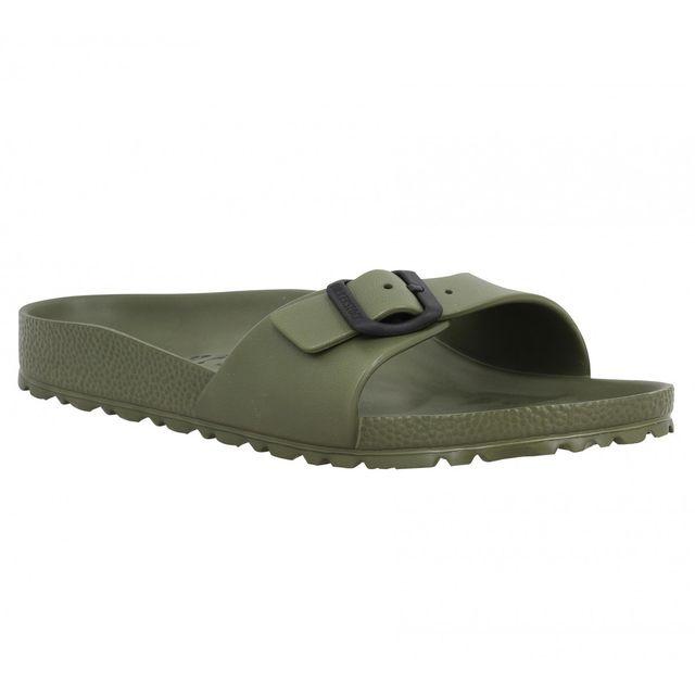 birkenstock madrid eva 40 kaki vert pas cher achat vente sandales et tongs femme. Black Bedroom Furniture Sets. Home Design Ideas