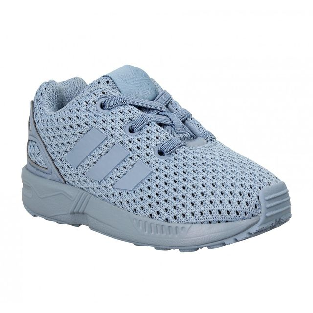 Adidas - Zx Flux toile Enfant-21-Bleu