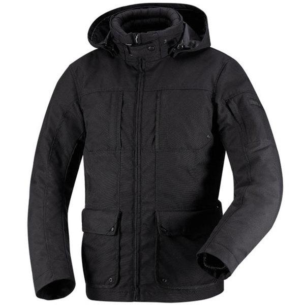 veste moto Milow 2 textile homme toutes saisons étanche noir Promo 2XL
