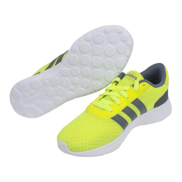 Adidas Neo Chaussures running mode Lite racer jaune Jaune