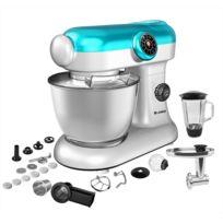 Klaiser - Robot Pétrin Pâtisser Multifonctions Kitchen Mix Km284MEX Professional avec Machine à pâtes et Kit Tranchoir / Râpe - Nombreux accessoires - Il fait tout