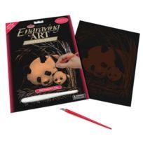 Royal & Langnickel - Copf24 Art De La Gravure Sur Cuivre Taille A4 Panda/PETIT