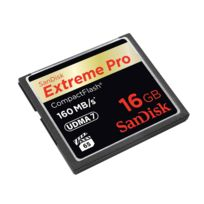 Sandisk - Compact Flash Extreme Cf 16 Go 160 Mo/s 1067X