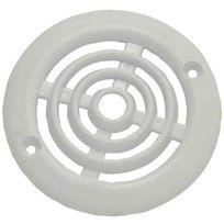 Dmo - Grille plastique en applique pour contre-cloison de menuiserie Ø 64 mm