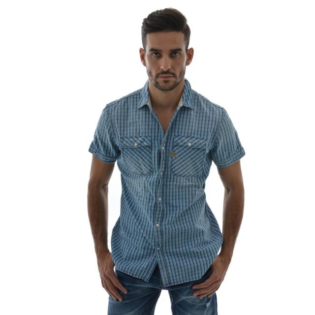 Raw Manches Chemise S Shirt Star Rudder Courtes 83355c Toulon G Hq5UOP