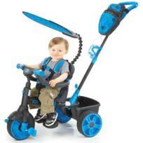 Little Tikes - Tricycle Evolutif 4 en 1 Deluxe Edition Neon Bleu
