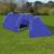 Rocambolesk - Superbe Tente de camping imperméable 4 Personnes Bleu marin/bleu clair neuf