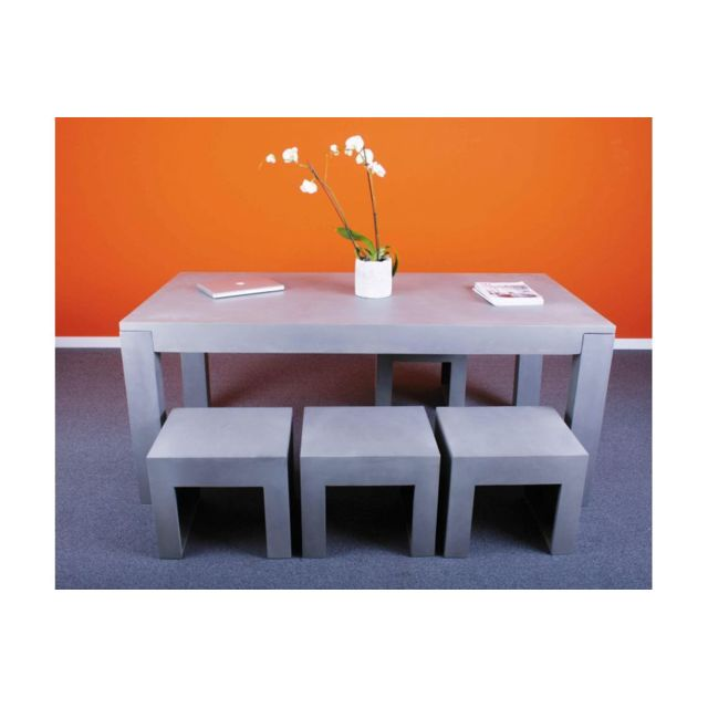 hellin table b ton cir pas cher achat vente tables manger rueducommerce. Black Bedroom Furniture Sets. Home Design Ideas