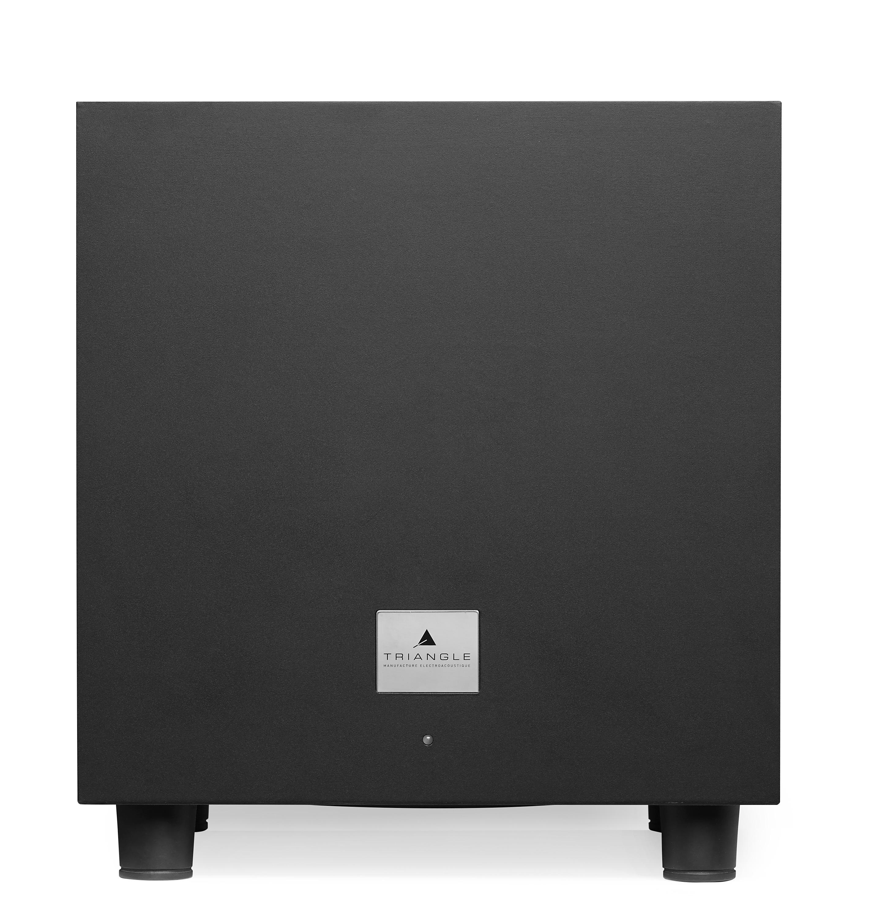 200W RMS - 30Hz à 120 Hz - 1 entrée ligne stéréo RCA