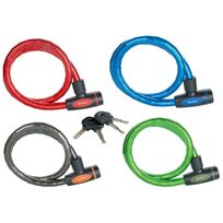 Masterlock - Câble antivol à clé L.1m