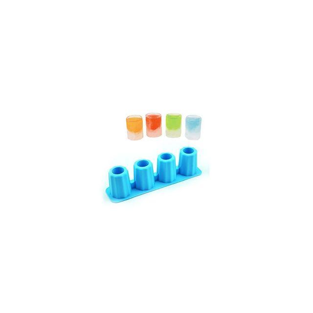 Alpexe Moule, bac a glacon magique - Fabrique un mini verre a digestif que vous remplissez avec la boisson a boire tres vite