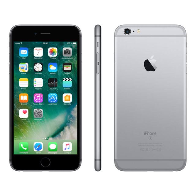 apple iphone 6s plus 32 go gris sid ral pas cher achat vente smartphone classique ios. Black Bedroom Furniture Sets. Home Design Ideas