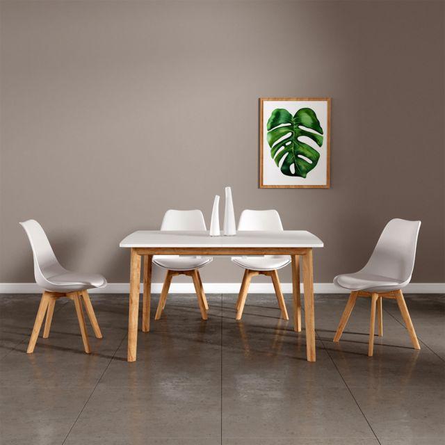 Happy Garden Ensemble Table Extensible 120 160cm Et 4 Chaises