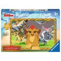Ravensburger - Puzzle 35 pièces : La Garde du Roi Lion : Garder, protéger, défendre