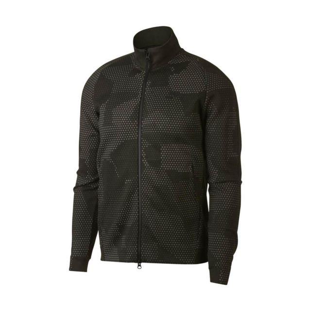 Nike Veste Sportswear Tech pas Fleece 886172 355 Gris pas Tech cher ddd038