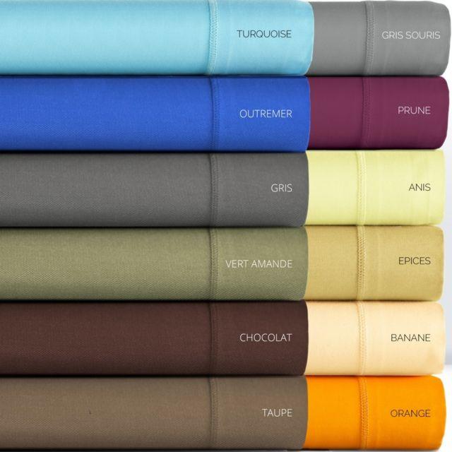 tradition des vosges drap housse percale uni percale discount pas cher achat vente draps. Black Bedroom Furniture Sets. Home Design Ideas