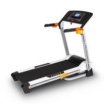 CAPITAL SPORTS - Pacemaker X20 tapis roulant fitness 4 PS 16km/h baudrier -argent
