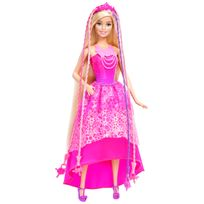 Barbie - Princesse Tresses Magiques - DKB62