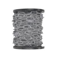 Chaubeyre - Chaîne à maille longue - acier zingué - bobine de 25 m - 4 mm