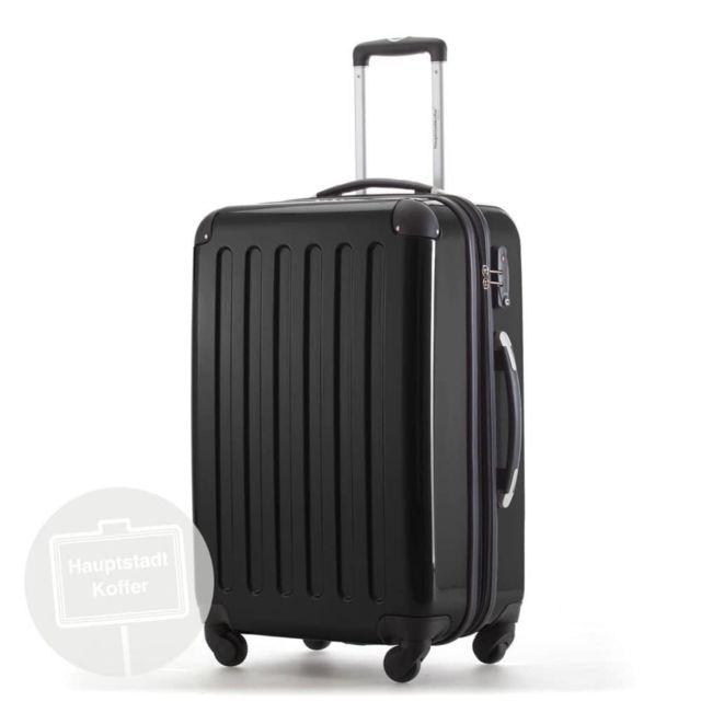 marque generique valise de voyage bagage soute 87l alex hauptstadtkoffer noir avec serrure. Black Bedroom Furniture Sets. Home Design Ideas