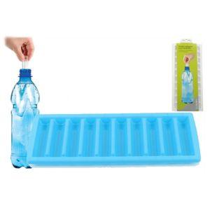 revimport moule 10 gla ons pour bouteilles bleu pas cher achat vente seau glace. Black Bedroom Furniture Sets. Home Design Ideas