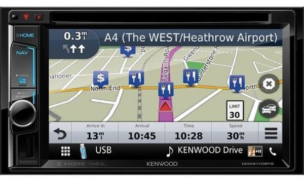 Kenwood Autoradio/VIDEO/GPS Dnx-5170BTS