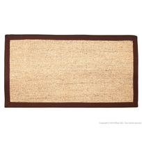 House Bay - Tapis sisal avec ganse en coton Natural Touch
