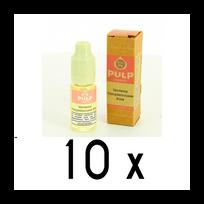 Pulp - Lot 10 e-liquides Verveine Pamplemousse Rose 12mg soit 4,90 euros le flacon 10ml