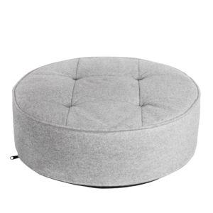 marque generique coussin de sol gris clair rond 50 cm pas cher achat vente coussins. Black Bedroom Furniture Sets. Home Design Ideas